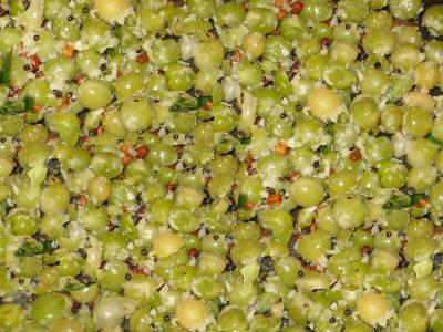 green peas sundal - Green Peas Sundal