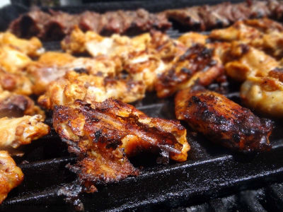 grilled chicken wings - Grilled Chicken Wings