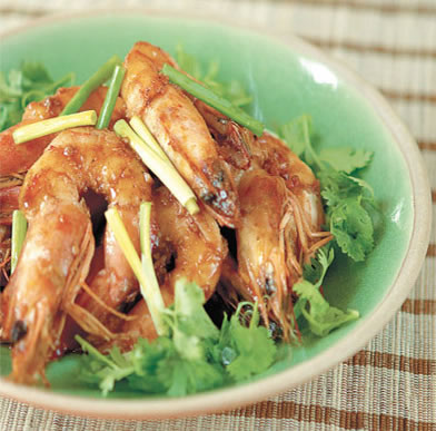 honey ginger shrimp - Honey Ginger Shrimp