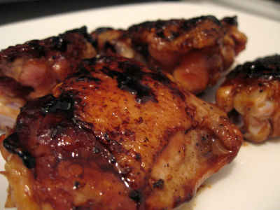Stir-Fried Honey Glazed Chicken Thighs