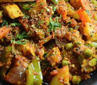 kadai vegetables - Kadai Vegetables