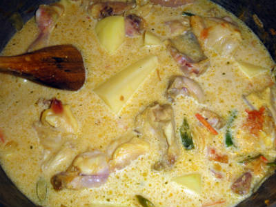 kerala chicken stew - Kerala Chicken Stew