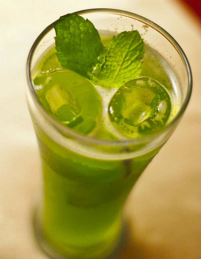 Lime Mint Cooler