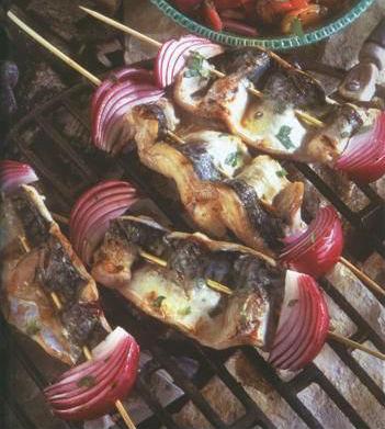 Mackerel Kebabs