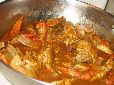 Malabar Crab Curry