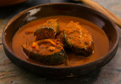 mangalore fish curry - Mangalore Fish Curry