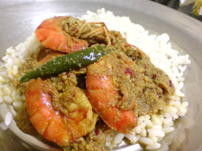 mangalorean prawn curry - Mangalorean Prawn Curry