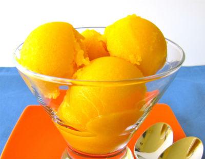 mango sorbet - Mango Sorbet