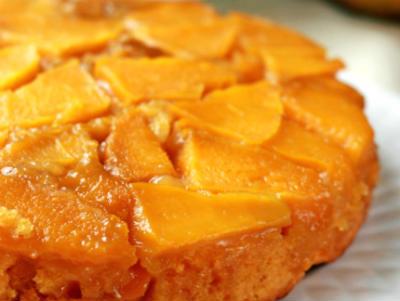 mango upside down cake - Mango Upside Down Cake
