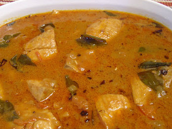 South Indian FIish Kuzhambu