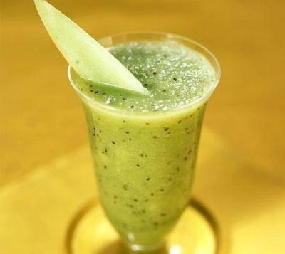 melon kiwifruit smoothie - Melon and Kiwi Fruit Smoothie