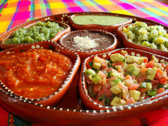 mexican sauces - Flavours of Mexico