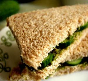 mint cheese sandwich - Pudina (Mint) Cheese Sandwich