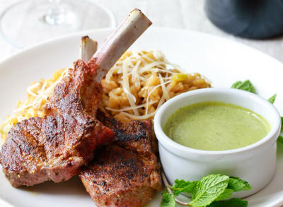 Grilled Lamb with Moroccan Rub