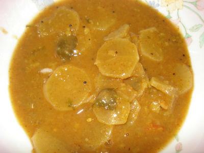 Mutton Radish Sambar
