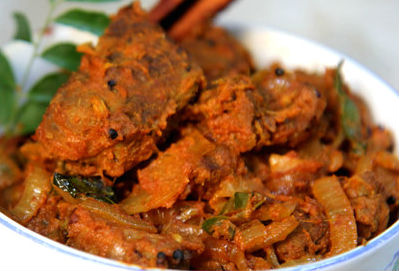 mysore mutton - Mysore Mutton Curry