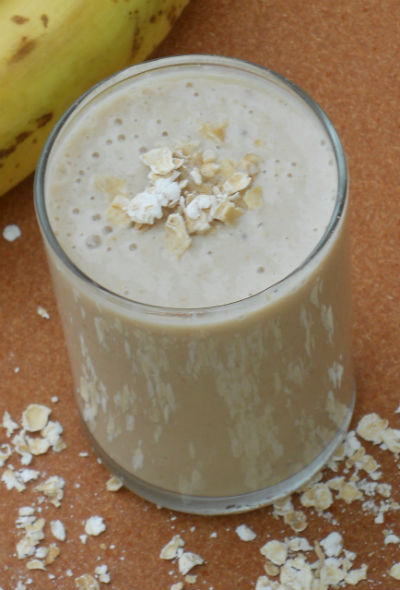 oats banana smoothie - Oats Banana Smoothie