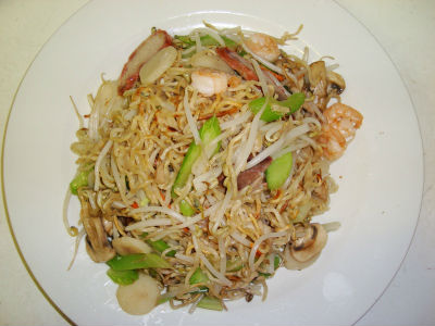 pan fried noodles - Panfried Noodles