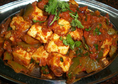 Shahi Paneer with Capsicum