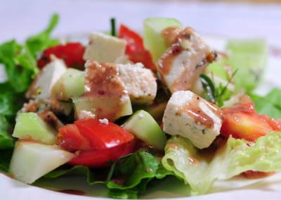 Paneer Vegetable Salad