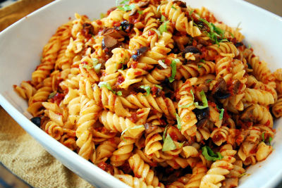 pasta sundried tomatoes - Pasta With Sun-dried Tomatoes
