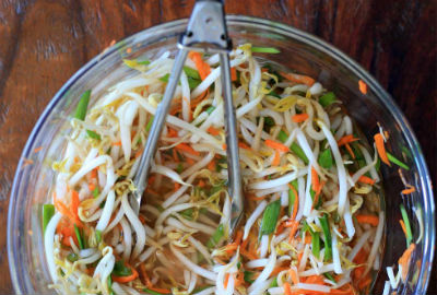 Pickled Bean Sprouts and Carrot