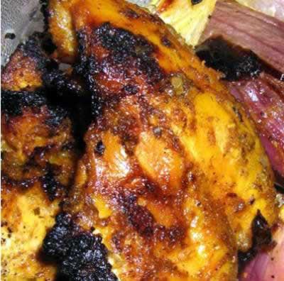 Pickled Chicken Kebab