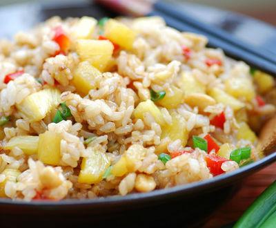pineapple fried rice - Pineapple Fried Rice