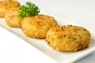 Potato and Corn Croquettes
