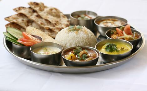 punjabi%20thali - Punjabi Cuisine