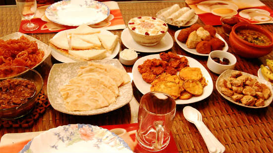 Ramadan Iftar Food