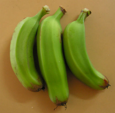 Raw Bananas