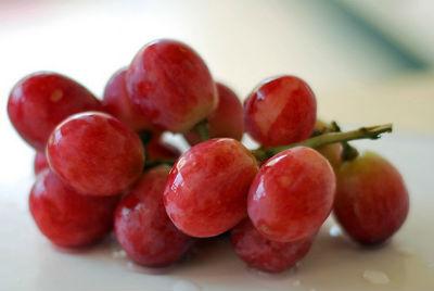red grapes - Grape Mostarda