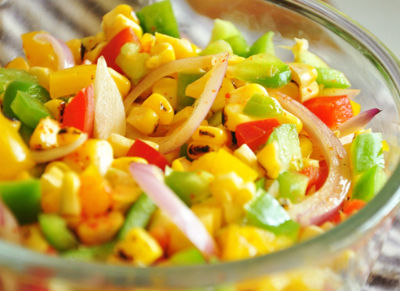 roasted corn salad - Roasted Corn Salad