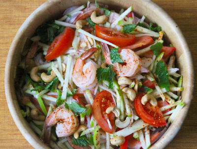 Shrimp and Apple Salad