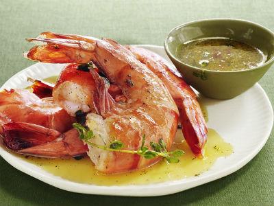 shrimp cocktail - Ginger Shrimp Cocktail