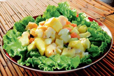 shrimp salad creamy dressing - Shrimp Salad with Creamy Dressing