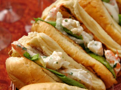 shrimp sandwich - Shrimp Sandwich