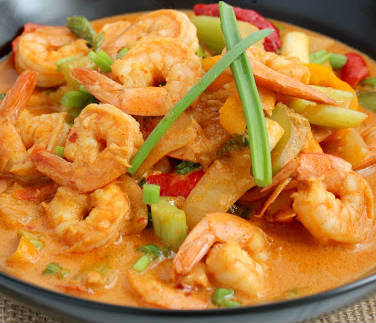 Shrimp and Tofu Curry