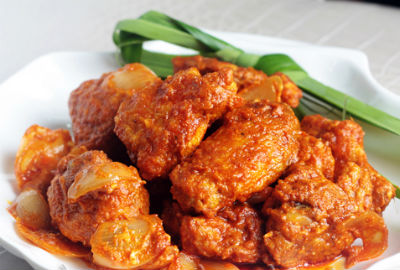 Singapore Chicken Sambal