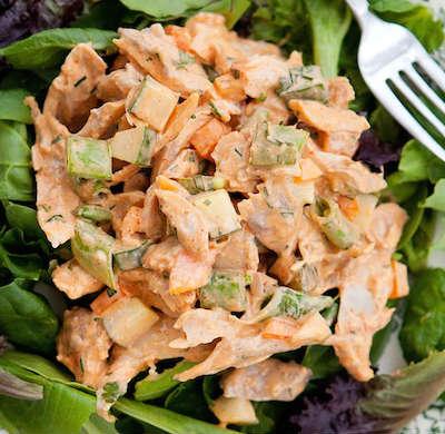 spicy chicken salad - Spicy Chicken Salad