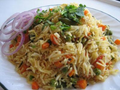 spicy veg biryani - Spicy Veg Biryani