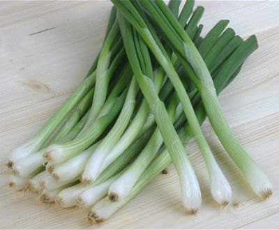 spring onions - Spring Onion and Pumpkin Soup