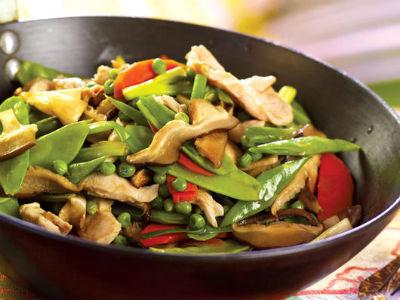 Tamarind Stir-Fried Chicken with Mushrooms