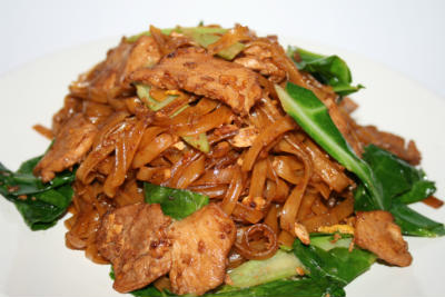 stir fried noodles - Stir-Fried Noodles with Soy Sauce