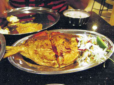 stuffed pomfret - Whole Stuffed Pomfret