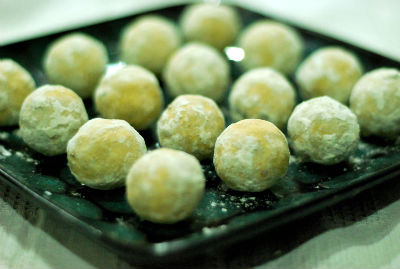 sweet balls - Maida Rava Sweet Balls