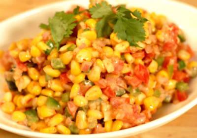 sweet corn chaat - Sweet Corn Chaat