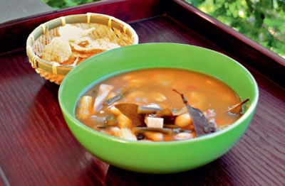 tamarind vegetable soup - Tamarind Vegetable Soup