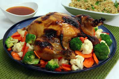 thai glazed chicken - Thai Glazed Chicken